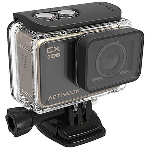 Image of Action Cam CX Gold Sensore CMOS 16Mpx Full HD Display LCD Touch 2'' Wi-Fi Impermeabile