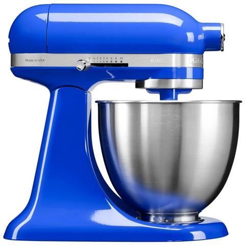 Robot da Cucina 4 Accessori Inclusi Potenza 250 Watt Capacità Ciotola 3,3 Litri Colore Blu