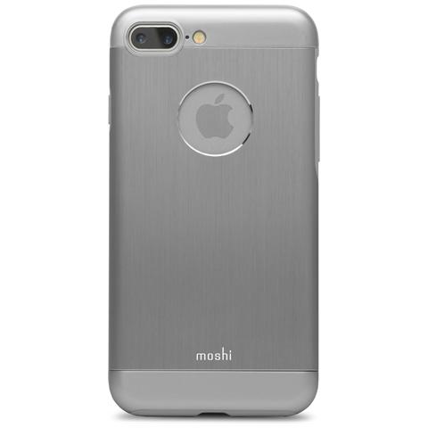 MOSHI 99MO090021 Armour - Custodia Rigida In Alluminio Per Iphone 7 Plus - Grigio