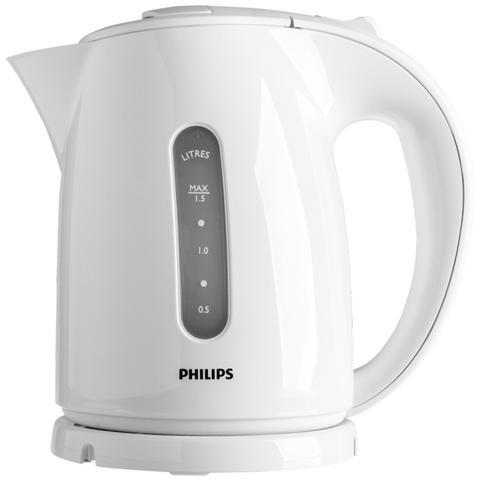 HD4646/00 Bollitore Elettrico Capacità 1.5 Litri Potenza 2400 Watt Colore Bianco