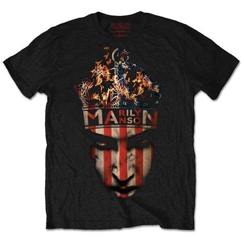 ROCK OFF Marilyn Manson - Crown (T-Shirt Unisex Tg. S)
