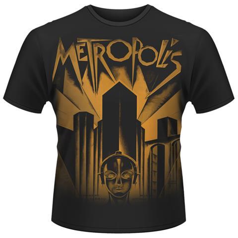 PLASTIC HEAD T-Shirt Metropolis Uomo Nera S 803341394414