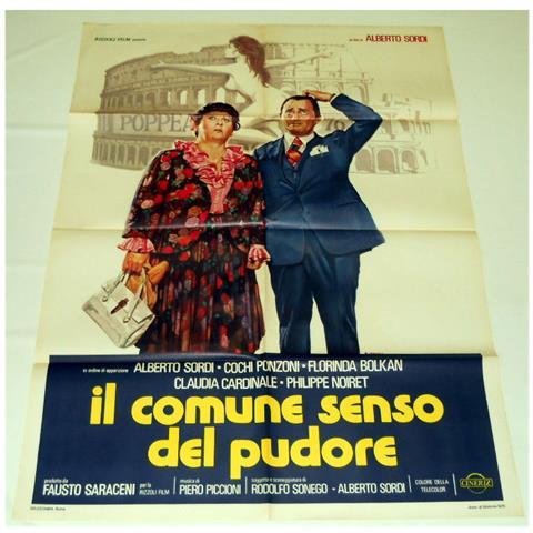 Vendilosubito Manifesto Originale Del Film Il Comune Senso Del Pudore Con Alberto Sordi