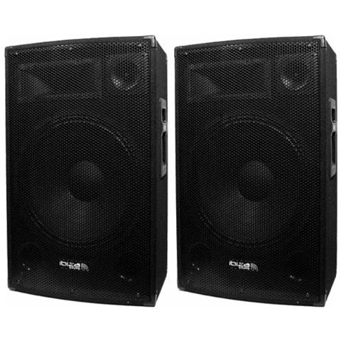Image of Coppia Di Diffusori 2 X 700 W Sound Ibiza Disco-15b
