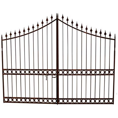 Cancello In Ferro Pieno L350xpr4xh288 Cm