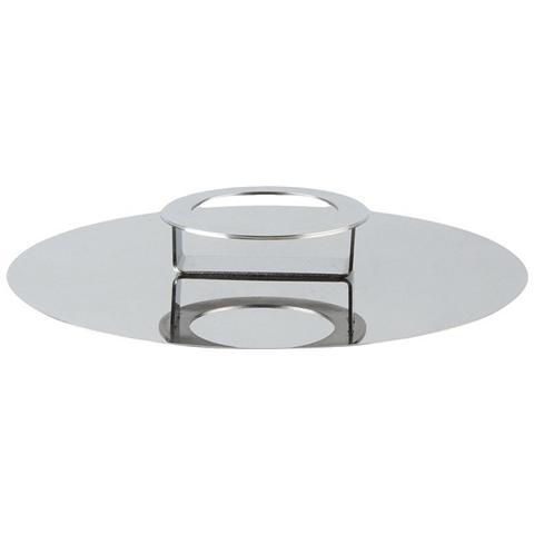 Coperchio / Alzata in Acciaio Lucido Diametro 20cm - Linea Foodwear