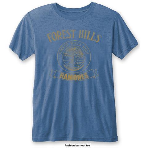 ROCK OFF Ramones - Forest Hills Vintage (T-Shirt Unisex Tg. S)