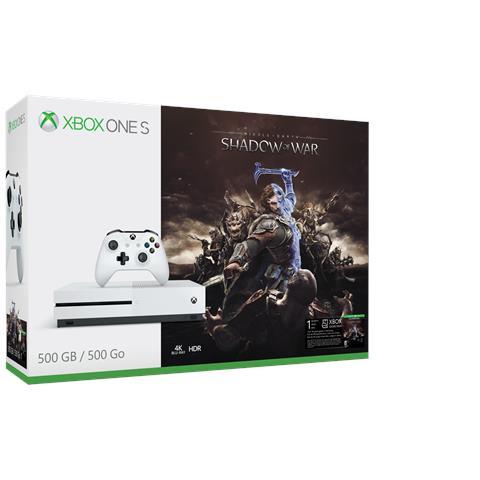 Image of Console Xbox One S 500 Gb + L'Ombra della Guerra Limited Bundle