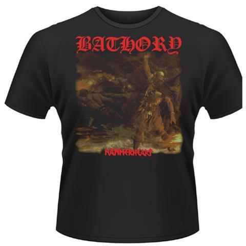 PLASTIC HEAD Bathory - Hammerheart (T-Shirt Unisex Tg. S)