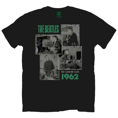 ROCK OFF Beatles (The) - Cavern Shots 1962 Black (T-Shirt Unisex Tg. 2XL)