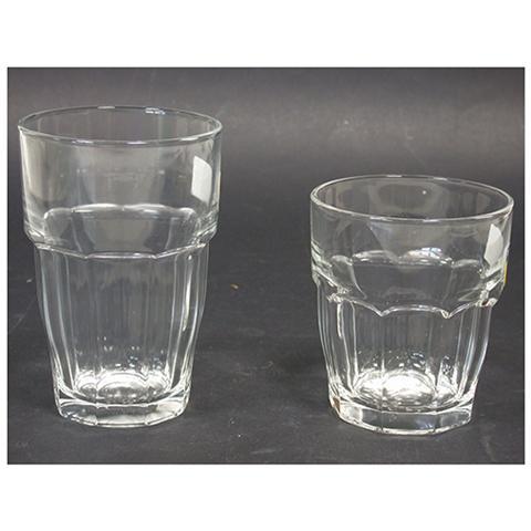 Set 6 Bicchieri Vetro Rockbar Long Drink Cl37 Tableware