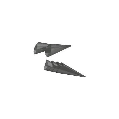 6 Coni Antiaderenti 12x3,5cm