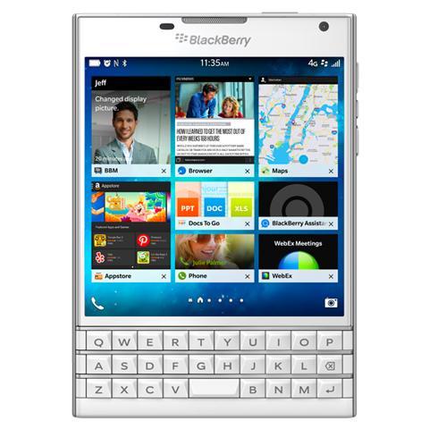 Passport White Display 4.5'' HD Quad Core Ram 3GB Storage 32GB +Slot 4G / LTE WiFi Bluetooth Doppia Fotocamera 13Mpx / 2Mpx Blackberry 10.3 OS - Italia