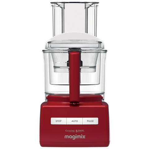 Robot da Cucina Cuisine Systeme 5200 XL Premium Capacità 3,6 L Potenza 1100 W Colore Rosso