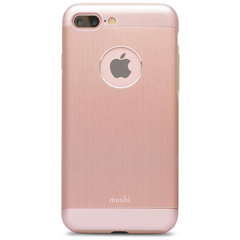 MOSHI 99MO090251 Armour - Custodia Rigida In Alluminio Per Iphone 7 Plus - Rosa