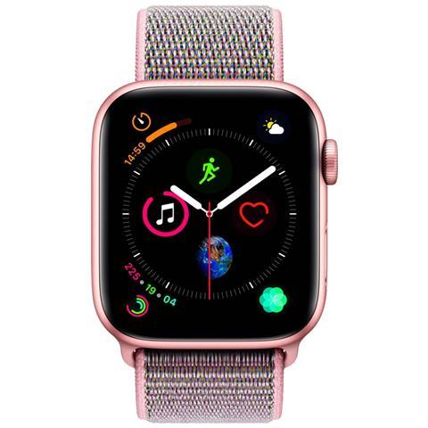 APPLE Watch Series 4 44mm Celluar Impermeabile 5ATM Wi-Fi GPS Grigio Rosa