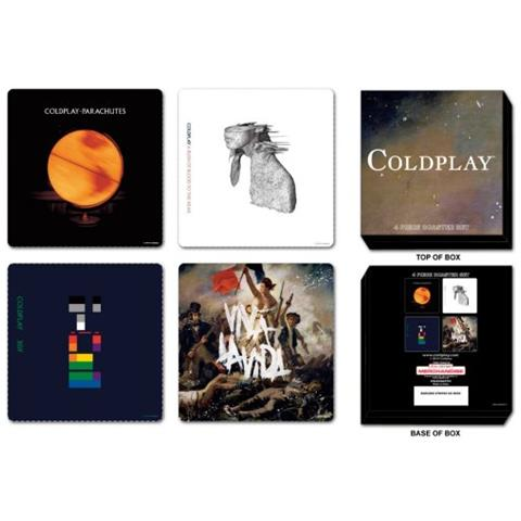 Coldplay - Set (set 4 Sottobicchieri)