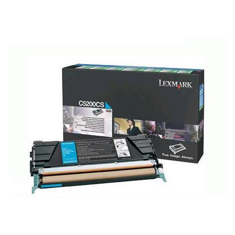 Image of 00C5200CS Toner Originale Ciano per Lexmark C520 Capacit
