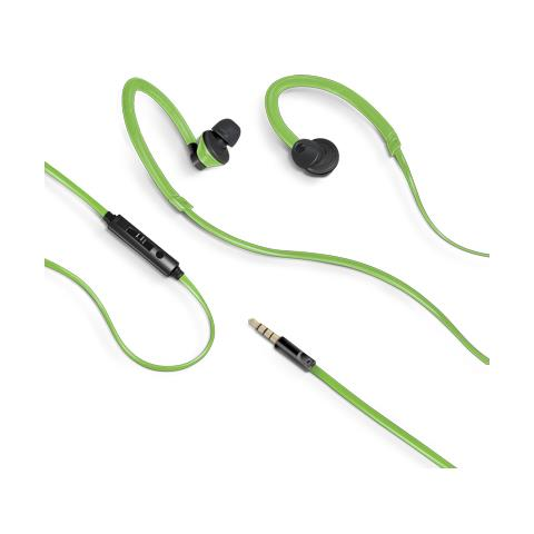 CELLY Stereo Earphones 3.5 Mm Green