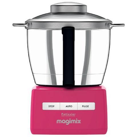Robot da Cucina Pâtissier Multifunzione 6200 XL Capacità 4,9 L Potenza 1500 W Colore Lampone