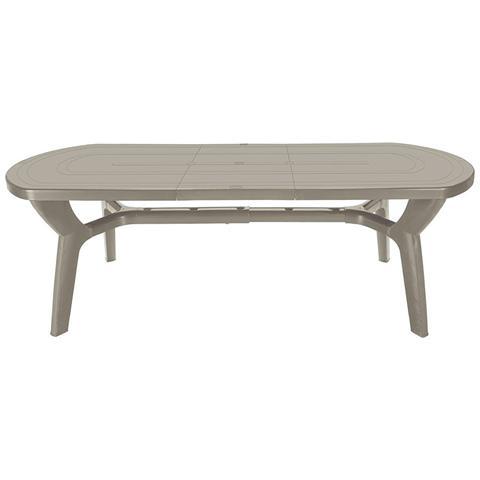 Tavolo Da Giardino Allungabile In Plastica / resina Juta 180/230 Cm