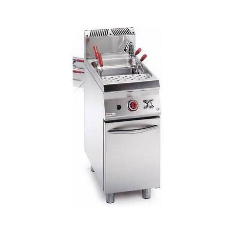 Cuocipasta A Gas Professionale 45 Litri Cucina Ristorante Cm 40x90x90 Rs0765