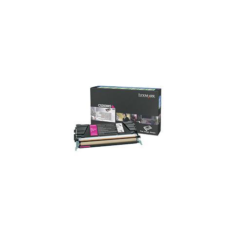 Image of 00C5200MS Toner Originale Magenta per Lexmark C520 Capacit