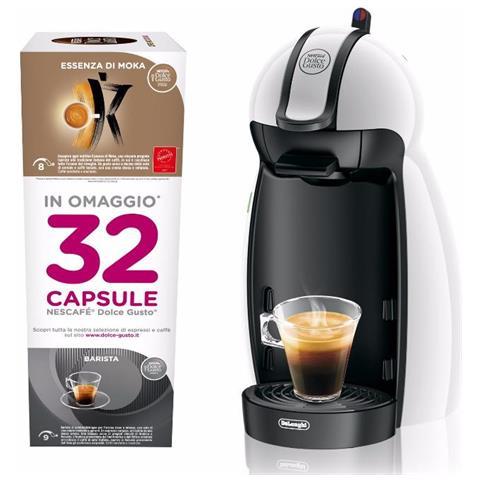 Piccolo Macchina da Caffe' Potenza 1460 Watt con 32 Capsule Incluse