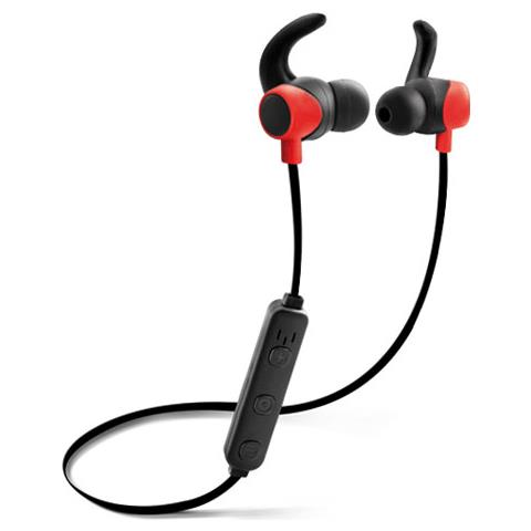 FONEX Auric. Bluetooth Sport Stereo 4.1 A Filo Magnet Black / Red