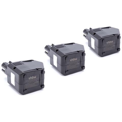 3 X Nimh Batteria 2100mah Per Utensile Elettrico Hilti Sb12, Sf120-a, Sfb105, Sfb125 Sosti...