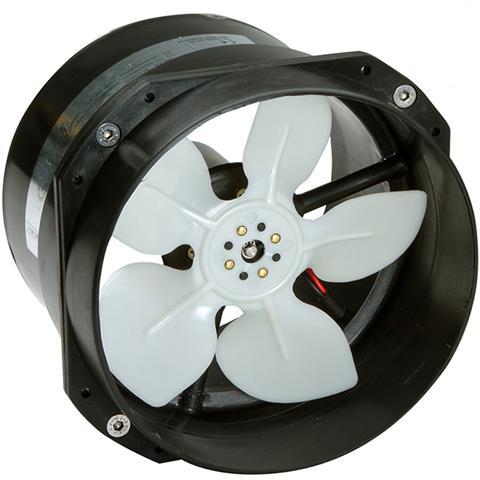Elettroventilatore Portata 750 Mc / ora Elettroventilatore12v Ass. 11,5 Amp.