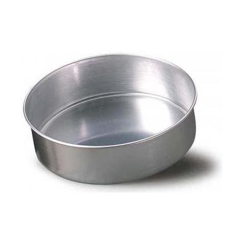 Stampo torta cilindrica alluminio 22cm h. 8cm