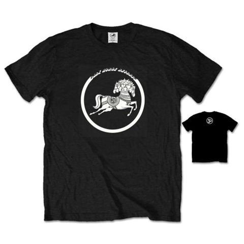 ROCK OFF George Harrison - Dark Horse Black (T-Shirt Unisex Tg. XL)