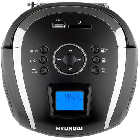 HYUNDAI TR 1088 SU3BS, Portatile, LCD, Digitale, FM, SD, SDHC