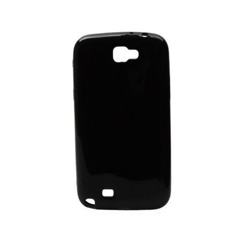 SWISS CHARGER Custodia X Samsung Galaxy Note2 Scp30041 Swiss Charger In Silicone Nero