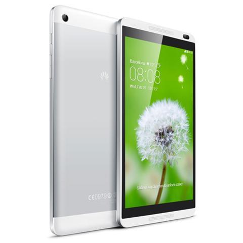 "HUAWEI Tablet MediaPad Blu 8"" Quad Core Memoria 8 GB +Slot MicroSD Wi-Fi - 4G Android - Italia"