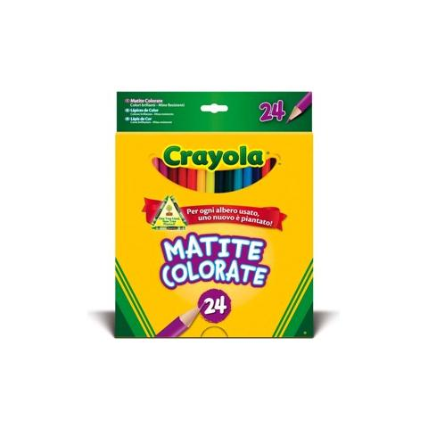 CRAYOLA Colora 24 Matite Colorate 3624