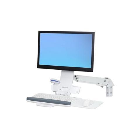 """ERGOTRON StyleView 24"""" Bianco supporto da parete per tv a schermo piatto"""
