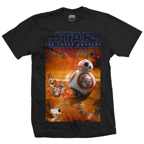 ROCK OFF Star Wars - Episode Vii Bb-8 Composition (T-Shirt Unisex Tg. S)