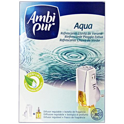 Ambi Pur Casa Base+ricarica Aqua Deodorante Candele E Profumatori