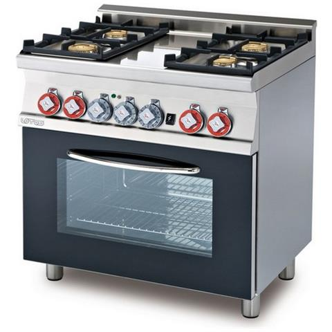 Cucina A Gas Professionale Afp / Cf4-68gem