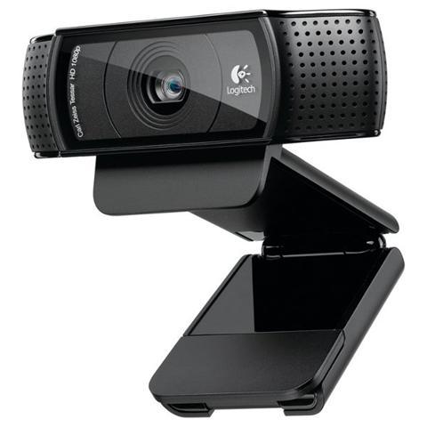 Webcam C920 FullHD Pro 15Mpx Doppio Microfono USB 2.0 Nero