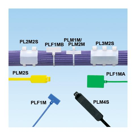 PLF1M-C Poliammide 100pezzo (i) fascetta
