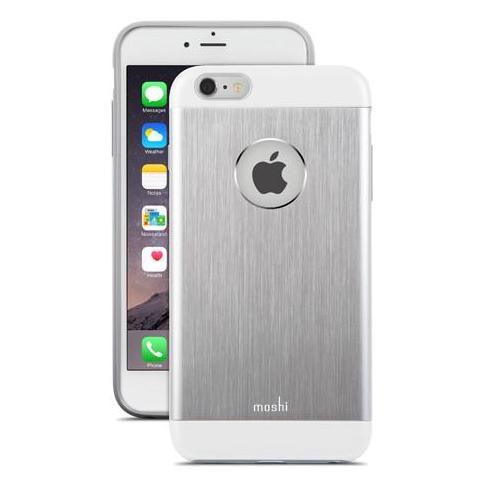 MOSHI Iglaze Armour per iPhone 6 Plus - Colore Silver