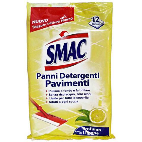 Smac Panni Multiuso Detergenti X 12 Pezzi Attrezzi Pulizie