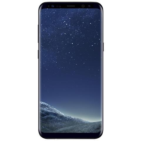 """SAMSUNG Galaxy S8+ Nero 64 GB 4G/LTE Impermeabile Display 6.2"""" Quad HD Slot Micro SD Fotocamera 12 Mpx Android Tim Italia"""