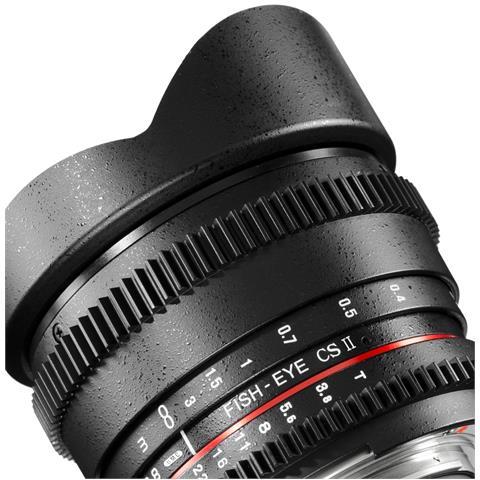 18710, SLR, 10/7, Obiettivo ampio, Minolta Dynax 5D, 7D, Nero, 7,5 cm