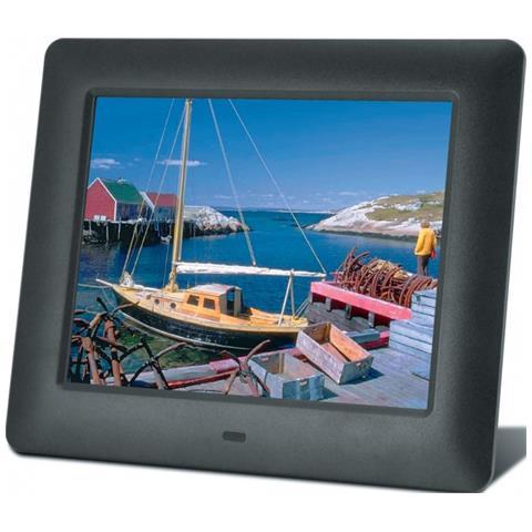 Cornice digitale DigiFrame Display 7'' Porta USB colore Nero