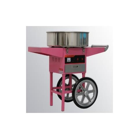 Macchina Per Lo Zucchero Filato Professionale Con Carrello Happy Air