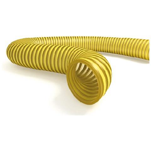 Tubo Spiralato Alimentare Giallo Diametro 60 (mt. 50)